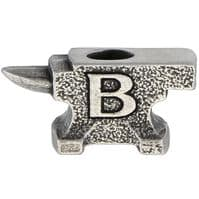 Buck Anvil Pewter Bead